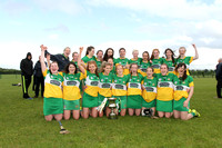Leinster Camogie Junior Final replay.Offaly v Wicklow 11.06.17