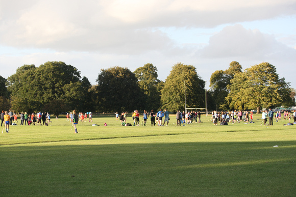 Dublin Camogie U-12 School of Excellence in the Phoenix Park on Friday 02.09.16