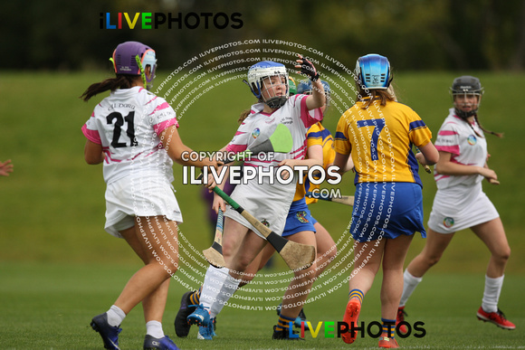 09-09-17 All Ireland Camogie U-14 Blitz Kildare v Clare at Abbotstown (1)