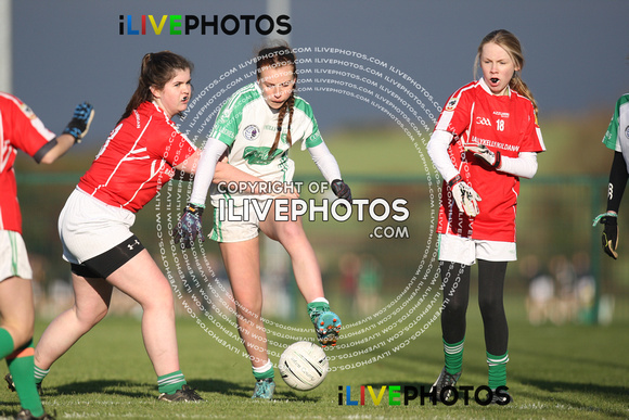 26-11-16 LGFA Kildare U-15 League Final Confey v Kildangan Nurney at Hawkfield (1)