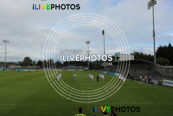 A view of Laois warm up Dublin V Laois GAA All Ireland Hurling Championship Round 1 Parnell Park July 1 st 2017 (283)
