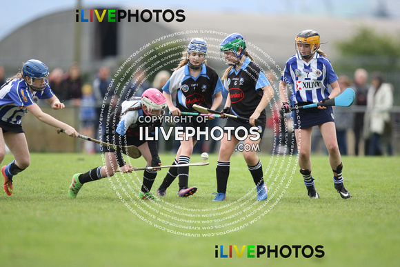 22-04-17 Good Counsel v BBSE Feile na nGael Div 1 Dublin Camogie qualifiers (1)
