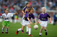 Mini Games at Dub v Mayo Ladies Football Final 24.09.17